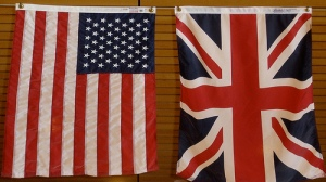 Stars and Stripes and Union Jack