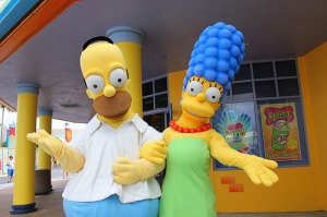 Homer and Marje