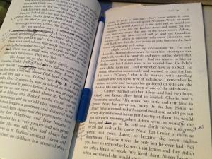 editing book