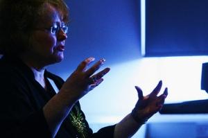Bridget Whelan teaching