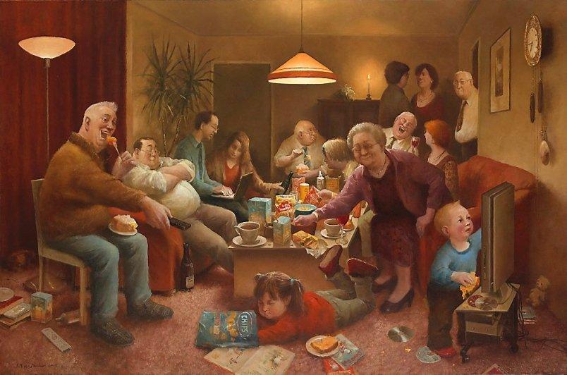 Открытки своими, смешные семейки картинки