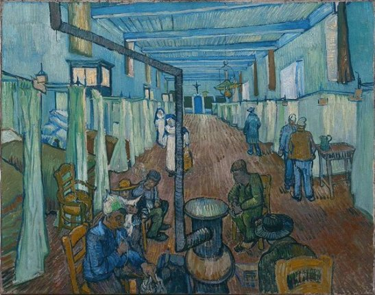 The Ward in the hospital at Arles
