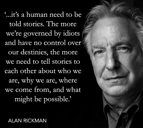 alan rickman quote