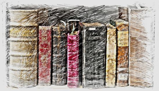 books drawing