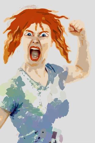 mad woman