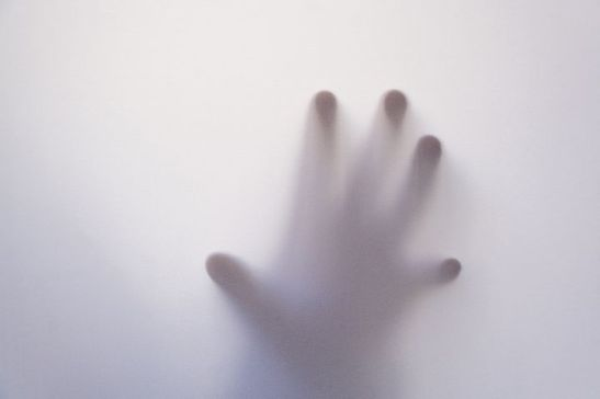 ghostly hand